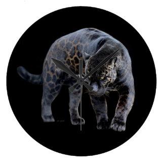 Grande horloge murale de Jaguar Diablo