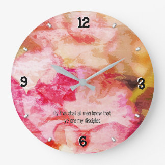 Grande Horloge Ronde 13h35 -93 de John