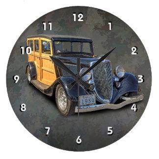 GRANDE HORLOGE RONDE 1934 WOODIE