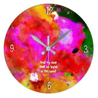 Grande Horloge Ronde 35:9 -93 de psaume