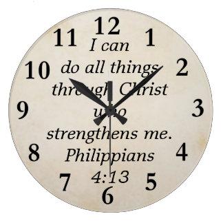 Grande Horloge Ronde 4h13 de Philippiens