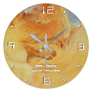 Grande Horloge Ronde 8h20 -93 de Matthew