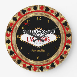 Grande Horloge Ronde Accueil vers Las Vegas !