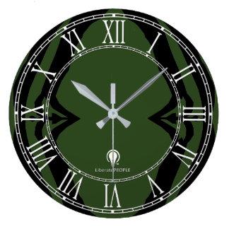 Grande Horloge Ronde Achat décoré moderne de l'horloge murale