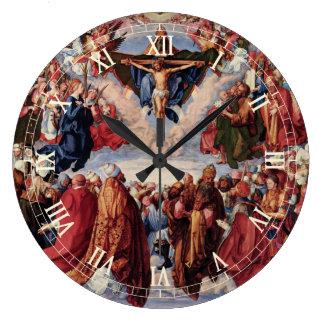 Grande Horloge Ronde Adoration de la trinité par Albrecht Durer, 1511