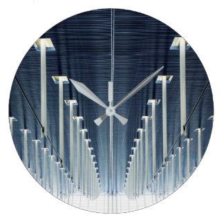 Grande Horloge Ronde Aéroport international de la Chine, Changhaï |