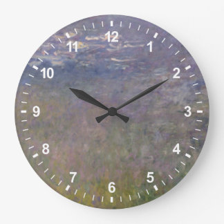Grande Horloge Ronde Agapanthus de nénuphars