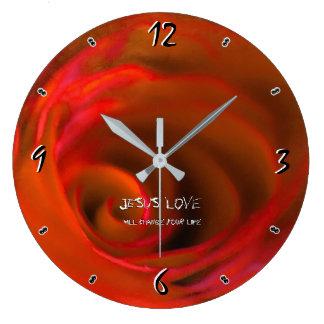 Grande Horloge Ronde Amour 93 de JÉSUS '