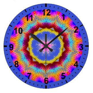 Grande Horloge Ronde Anneau de scintillement de ~ de ~ de fractale de