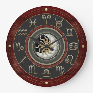 Grande Horloge Ronde Astrologie