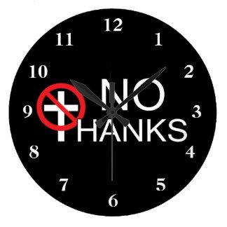 Grande Horloge Ronde Aucune grâce à la religion