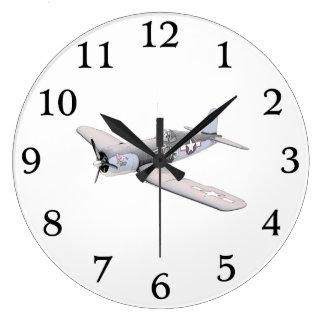 Grande Horloge Ronde Avion de corsaire de MSE F-4U