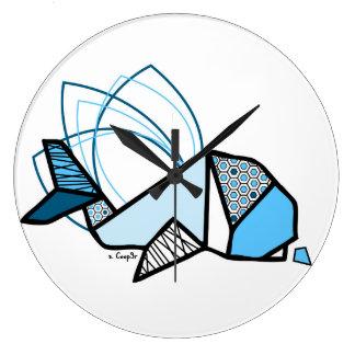 Grande Horloge Ronde Baleine origami