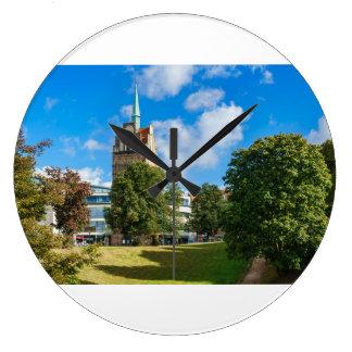 Grande Horloge Ronde Bâtiment historique à Rostock