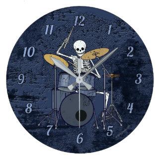 Grande Horloge Ronde Batteur squelettique