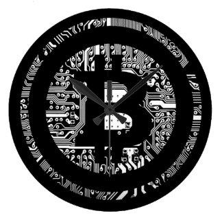 Grande Horloge Ronde Bitcoin - l'Internet de l'argent