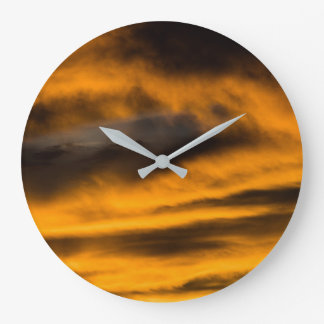 Grande Horloge Ronde burn-out d'aigle
