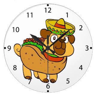 Grande Horloge Ronde Carlin de taco