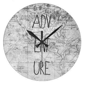Grande Horloge Ronde Carte d'aventure