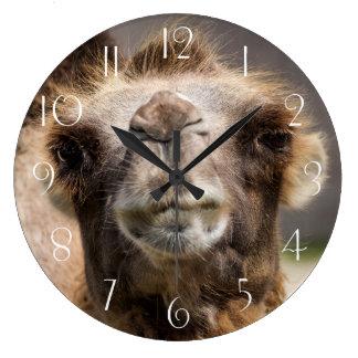 Grande Horloge Ronde Chameau Bactrian