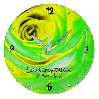 Grande Horloge Ronde Chapitre 103 -93 de psaumes de Lovingkindness