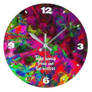 Grande Horloge Ronde Chapitre 2 -93 de révélation