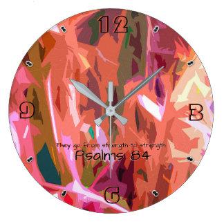 Grande Horloge Ronde Chapitre 84 -93 de psaumes
