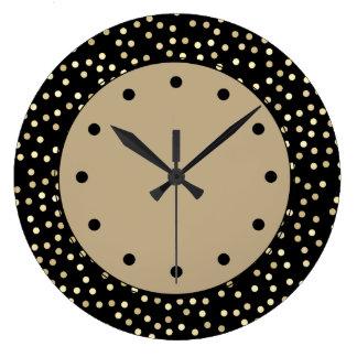 Grande Horloge Ronde Conception moderne à la mode