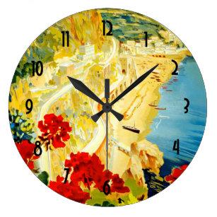 Grande Horloge Ronde Côte d'Amalfi, Italie