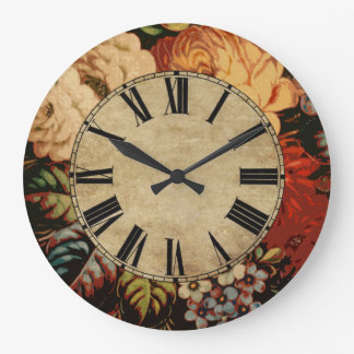 Grande Horloge Ronde Cru floral