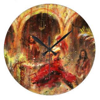 Grande Horloge Ronde Dancing flamand in cour andalouse