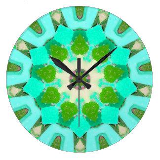 Grande Horloge Ronde De Halloween de sucrerie fractale peut-être