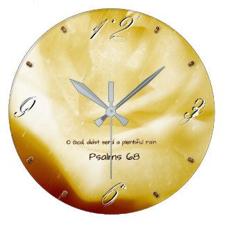 Grande Horloge Ronde Dieu d'O, didst envoient une pluie abondante 93