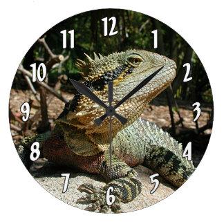 Grande Horloge Ronde Dragon d'eau australien