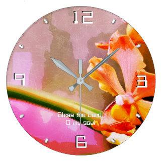 Grande Horloge Ronde Éloge du psaume 103 le seigneur, mon âme 93