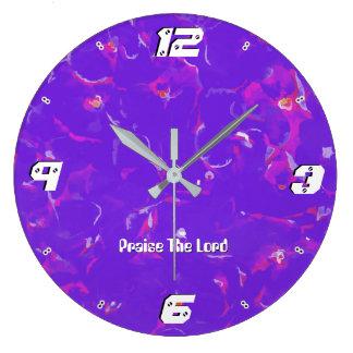 Grande Horloge Ronde Éloge du psaume 103 le seigneur, mon âme ml 93