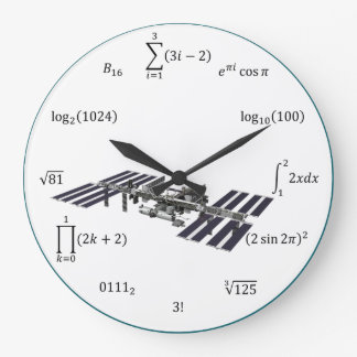 Grande Horloge Ronde Équations et notations de maths