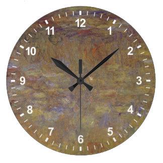 Grande Horloge Ronde Étang de nénuphar
