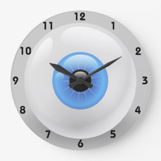 Grande Horloge Ronde gardez votre oeil sur le horodateur