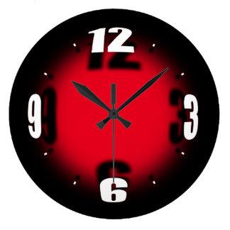 """Grande Horloge Ronde """"Globe original"""" - choisissez l'horloge de couleur"""