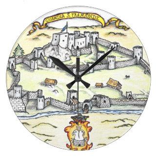 Grande Horloge Ronde Guardia médiéval