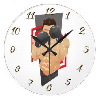 Grande Horloge Ronde Gymnase de boxe