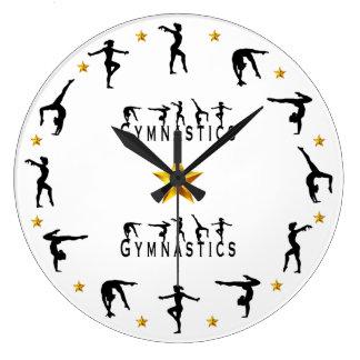 Grande Horloge Ronde Gymnastique - femelle