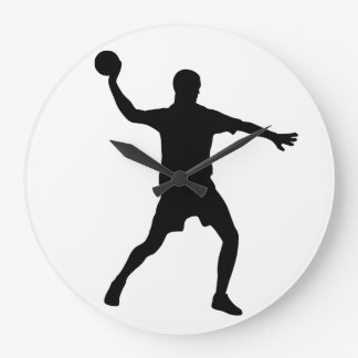 Grande Horloge Ronde Handball