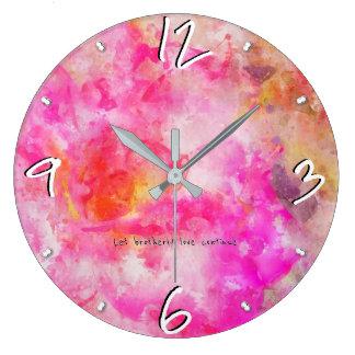 Grande Horloge Ronde Hébreux 13 -93