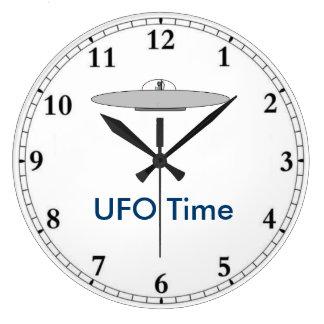 Grande Horloge Ronde Horodateur d'UFO