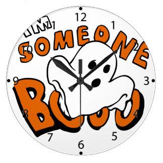 Grande Horloge Ronde Huez - fantôme de bande dessinée - le fantôme de