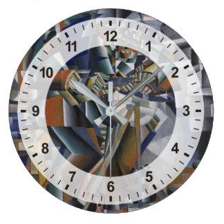 Grande Horloge Ronde La broyeur de couteau ou le principe du
