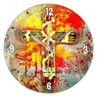 Grande Horloge Ronde La défaite de la mort - la scène du crime - 93