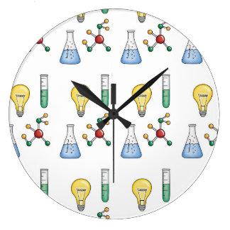 Grande Horloge Ronde La Science de la vie